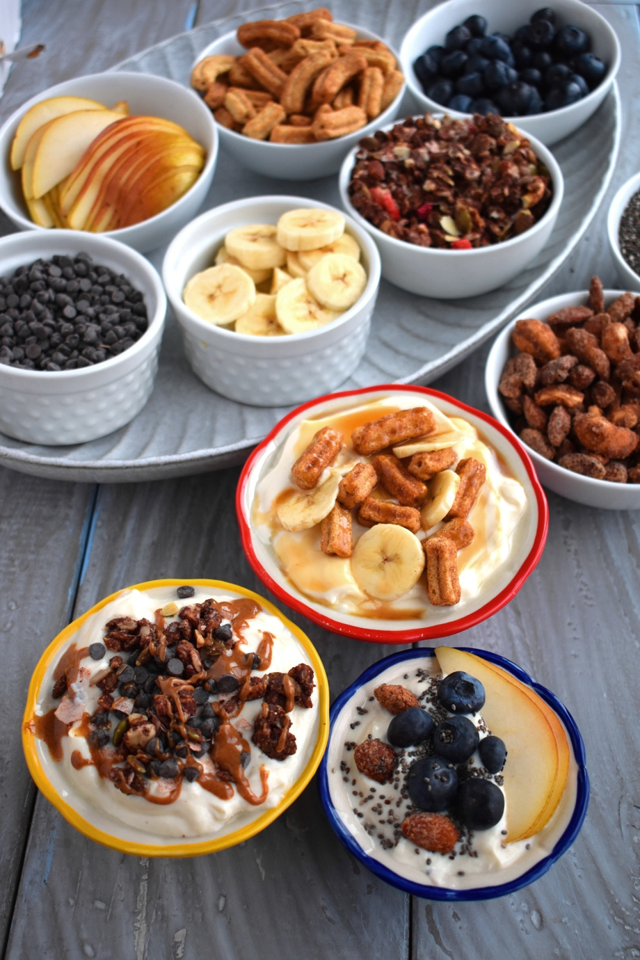 Yogurt parfait topping ideas