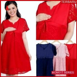 MOM017D14 Dress Hamil Menyusui Pita Brokat Dresshamil Ibu Hamil