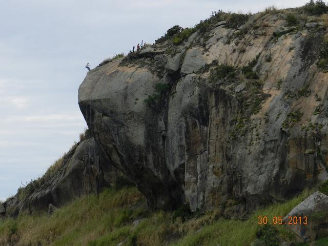 Rapel na Pedra da Tartaruga - Guaratiba - RJ