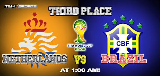 Brazil vs Holland - All Match Facts & Preview - FIFA World Cup 2014