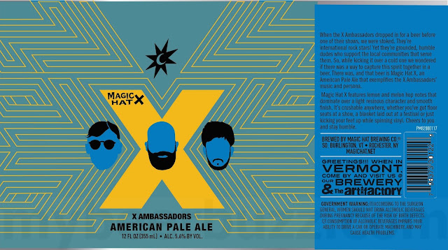 Magic Hat Collaborating With X Ambassadors on X American Pale Ale