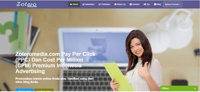 Zoteromedia Alternatif Google Adsense Terbaik Di Indonesia Rony