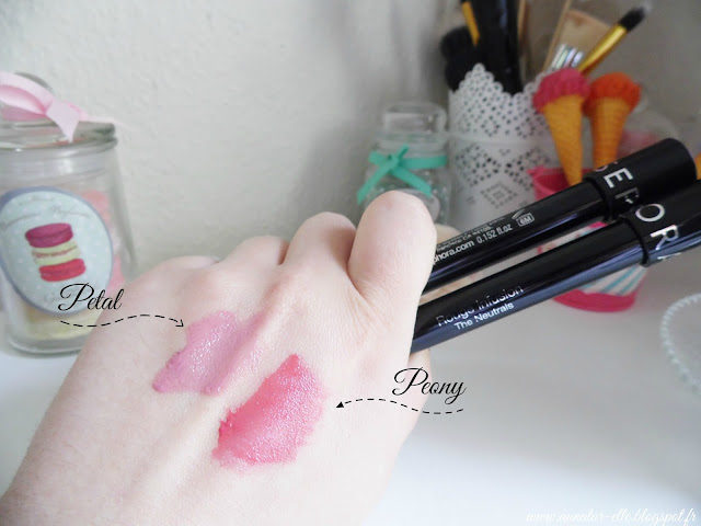 Rouge Infusion, The Neutrals by Sephora swatch