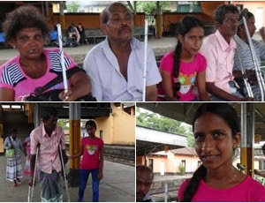 Gampaha Little Girl Sriripa Karunawa With Sickness Family
