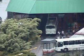 Guarda Municipal Criciúma (SC) realiza operação nos terminais