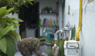 Warga Kota Cirebon Pra Sejahtera Mendapat Pemasangan Sambungan Gas Alam Gratis.