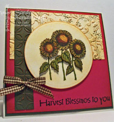 Our Daily Bread designs Harvest Blessings Designer Sandee Shanabrough