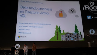 Rooted2017 - Fernando Rubio y Victor Recuero, - Advanced Threat Analytics - Detección de amenazas en Directorio Activo