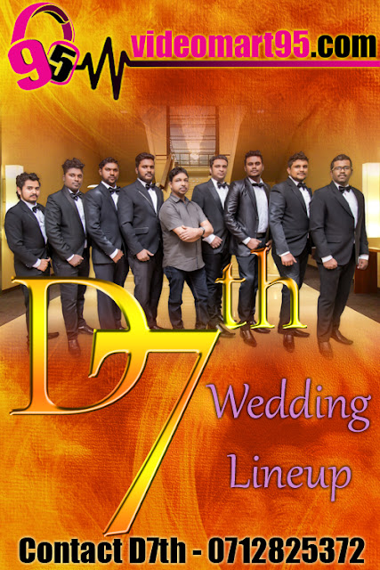 D7TH WEDDING LINEUP