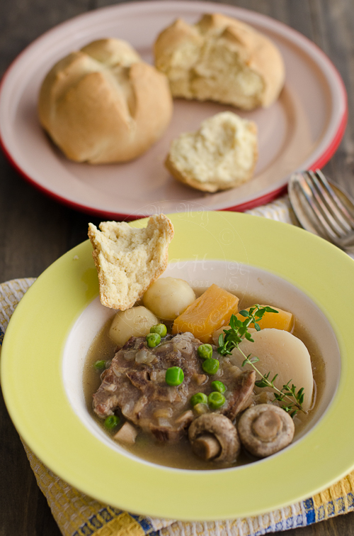 Irish Stew and Irish Soda Bread