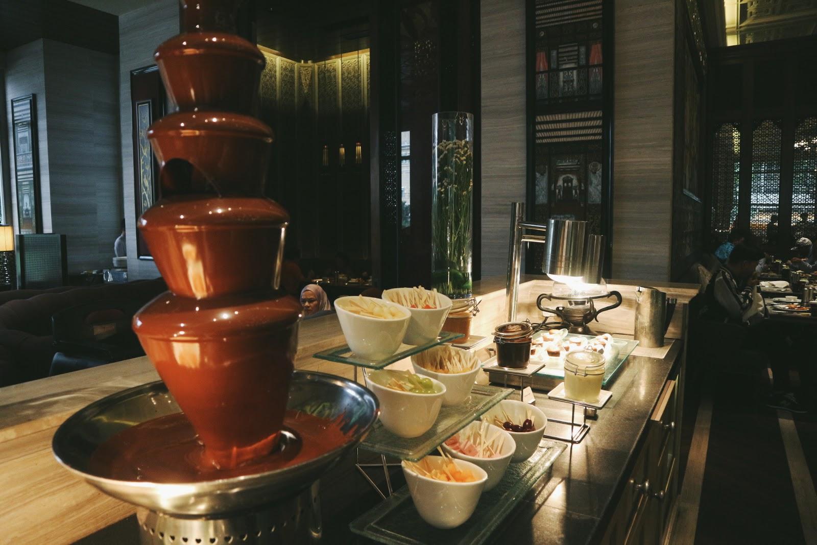 dessert buffet mandarin oriental