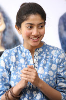 Sai Pallavi looks super cute in plain dress at her interview in Telugu about movie Fidaa ~ Exclusive Celebrities Galleries 027.JPG