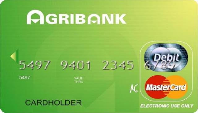 Thẻ tín dụng hạng thẻ Vàng của Agribank
