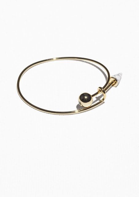 gold arrow bracelet, stories arrow bracelet,