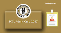 SSCL Admit Card