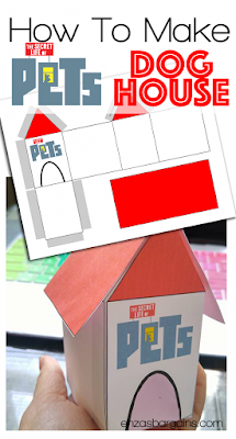 Secret Life of Pets Printable Activities