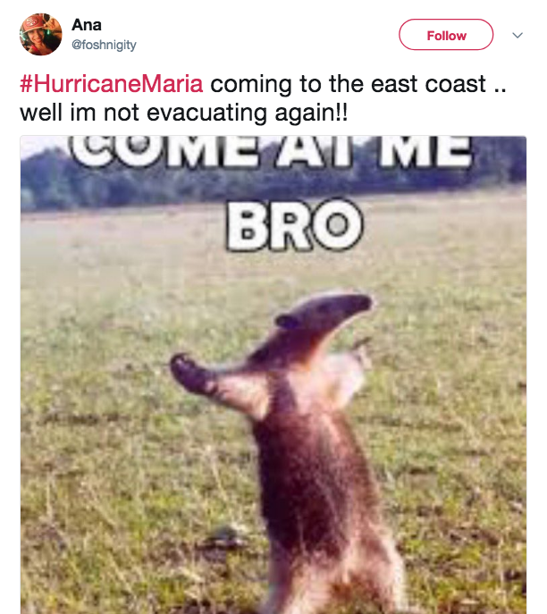 Hurricane Irma Thoughts