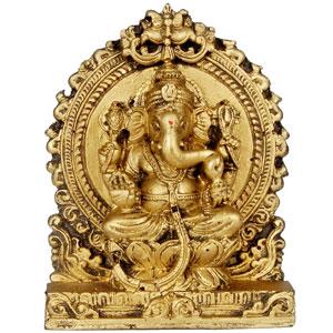 Women S World Antique Finishing Ganesh Idol