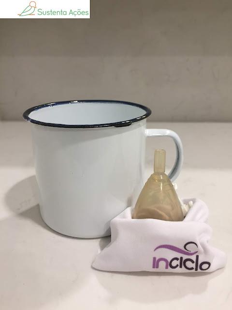 Coletor menstrual de silicone