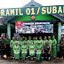 Kunjungan Kerja Ketua Persit  KCK Cabang XXIV Kodim 0736/Batang