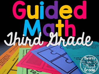 http://thriftyinthirdgrade.blogspot.com/2016/07/guided-math-for-third-grade.html