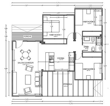 Casas de madera prefabricadas casas prefabricadas - Planos casas modulares ...