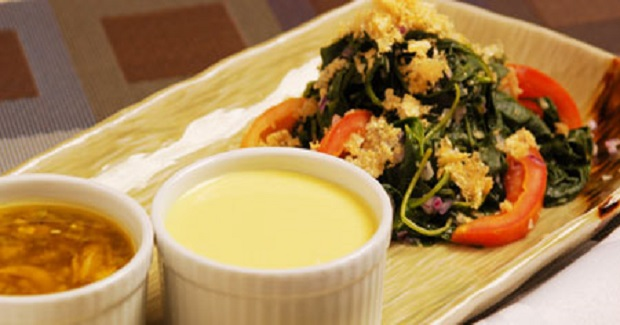 Native Salad With 2 Dressings Recipe