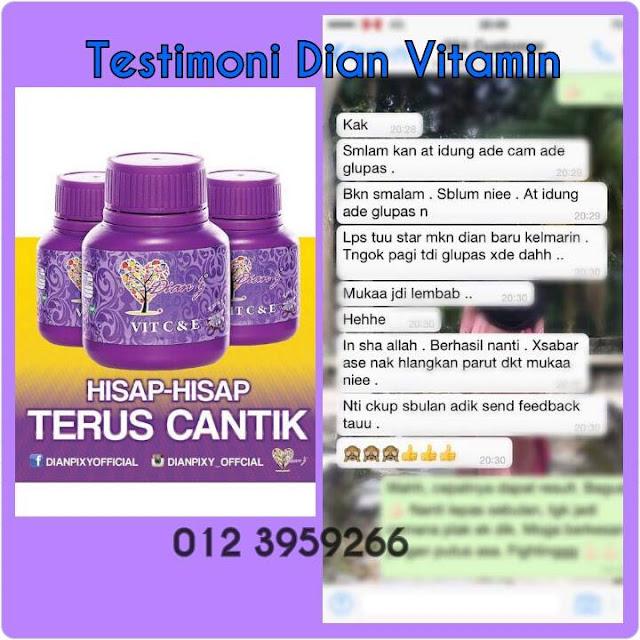 Nano Lightener Cream Dianz Pixy / Dian Vitamin C & E Extra Pearl Murah