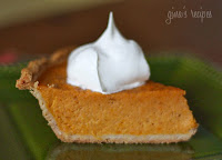 Lighter Sweet Potato Pie