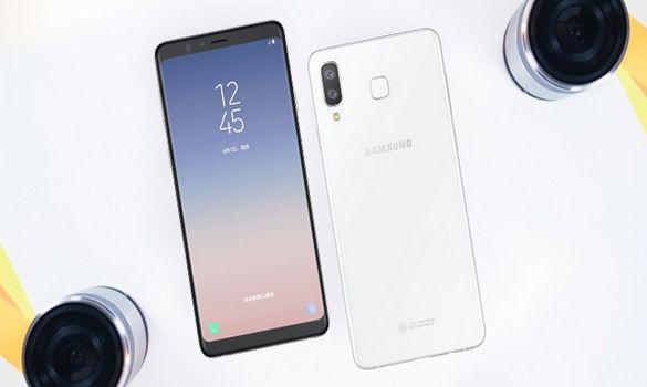 سامسونج تكشف عن هاتفها الجديد Galaxy A8 Star
