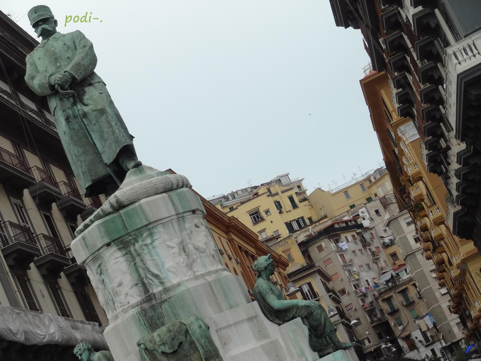 Napoli, colera, Umberto I Nazario Sauro