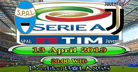 Prediksi Bola855 Spal vs Juventus 13 April 2019