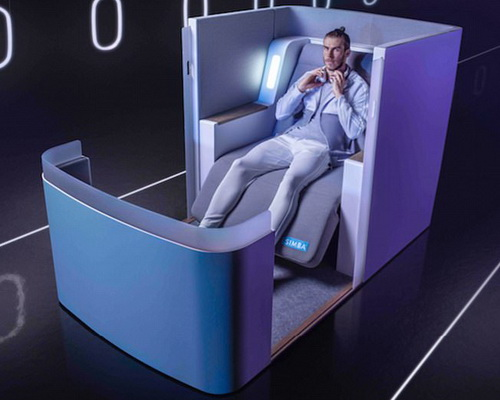 Tinuku.com Simba Sleep designed Air-Hybrid as the most sophisticated airline seat