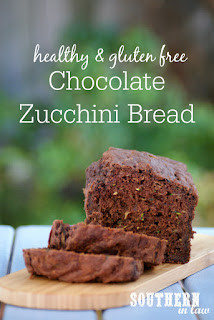Healthy Gluten Free Chocolate Zucchini Bread Recipe