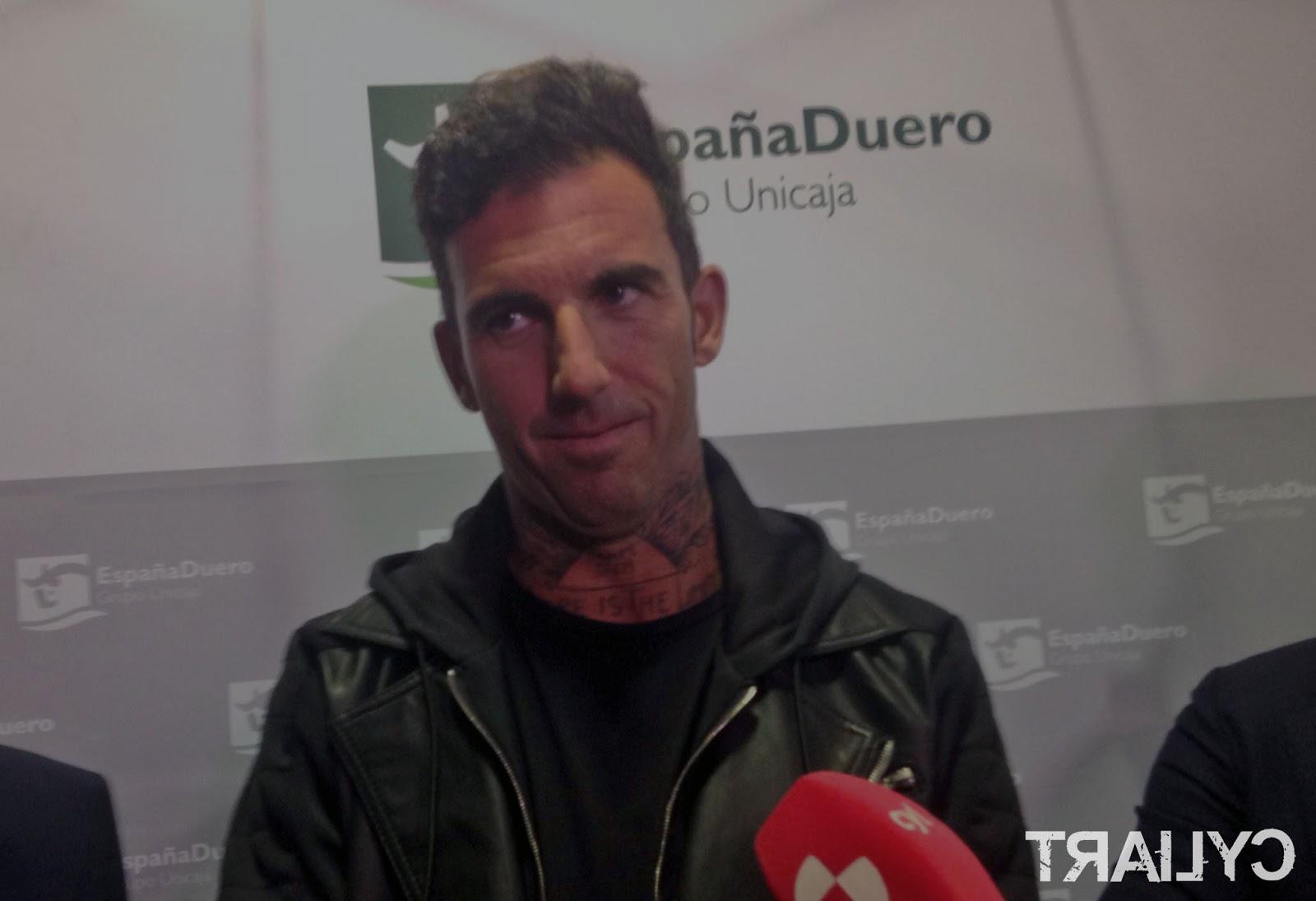 Josef Ajram en Valladolid. /TRAIL CASTILLA Y LEÓN