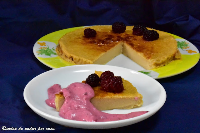 ginger-and-blackberry-cheesecake, tarta-de-queso-y-jengibre
