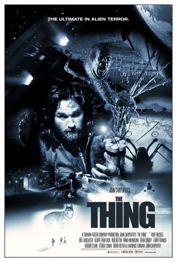 Silver Ferox Design: THE THING (John Carpenter, 1982)
