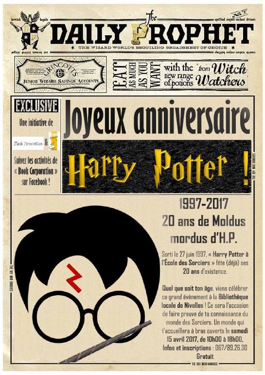 Escapages joyeux anniversaire harry potter la - Invitation anniversaire theme harry potter ...
