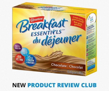 Chickadvisor Carnation Breakfast Essentials Product Review Offer