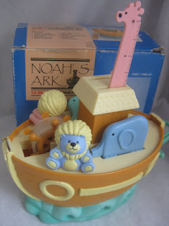 Fickle Me Blog: 'Vintage' Noah's Ark Stationery Set