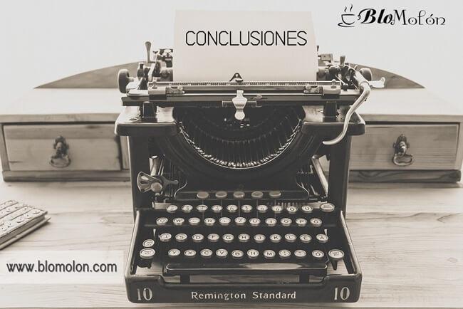 Conclusiones sobre las entradas anteriores de fuentes