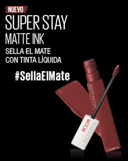 Prueba labial super Stay Matte ink Voyager