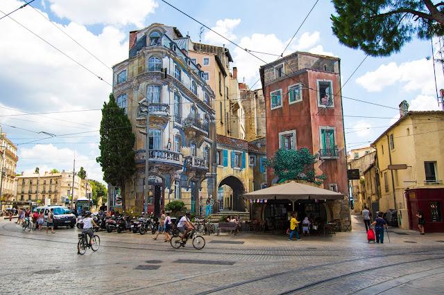 Trompe l'oeil-Montpellier