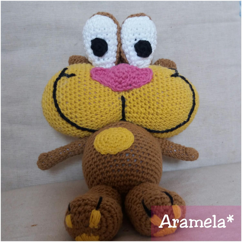 Aramela Artesanías: Gaturro amigurumi (con patrón)