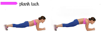 The Move: Plank Tuck Jumps