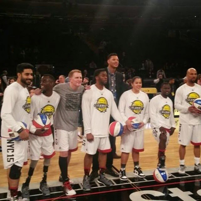 proud moment - abhishek bachchan becomes the first indian ever to take part in the nba all - star celebrity game!  , Abhishek Bachchan: Shaquille O'Neal Wants To Play Kabaddi