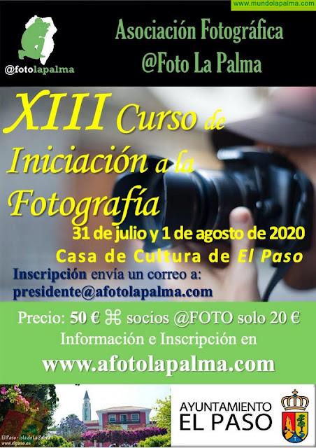 El Paso acoge el XIII Curso-Taller de Iniciación a la Fotografía Digital promovido por la Asociación @Foto La Palma
