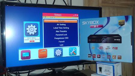 Spesifikasi Lengkap Receiver Skybox A1 Terbaru
