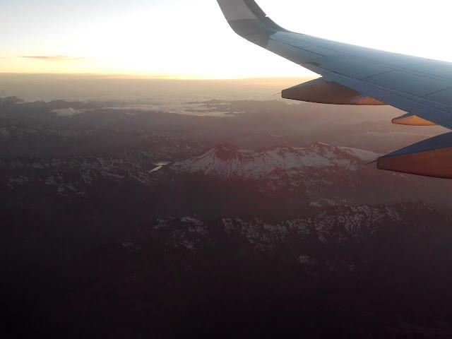 Volando de Santiago a Punta Arenas