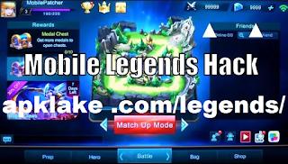 Apklake .com/legends/ || Hack 50000 Diamonds & Coins Mobile Legend [work 100%]